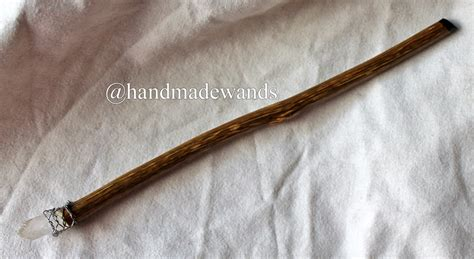 Handcrafted Wands - handcrafted blackberry rock wand 09 thornfield