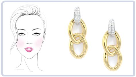 best earrings for diamond shaped faces choosing earrings which are best for you wixon jewelers
