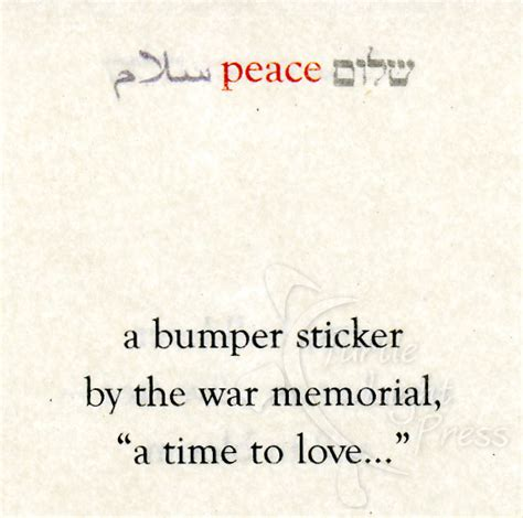 haiku of and war oif perspectives from a s books peace and war in israel captured in haiku poems turtle
