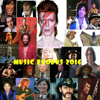 what musicians have died in the year 2016 so far booksteve s library music exodus 2016