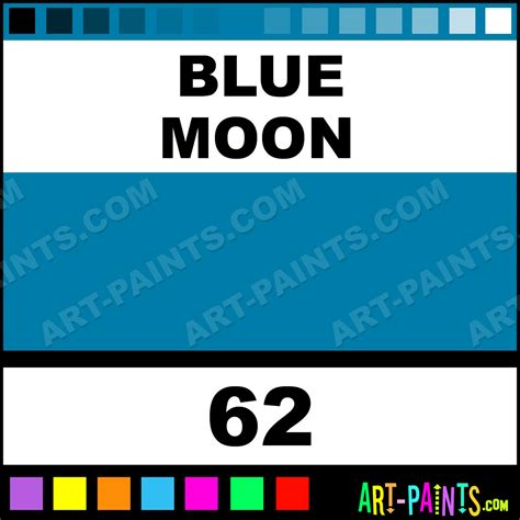 blue moon metallics glitter sparkle shimmer metallic pearlescent iridescent paints 62
