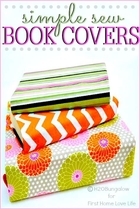 Easy Diy Cover by Diy Fabric Book Covers Home