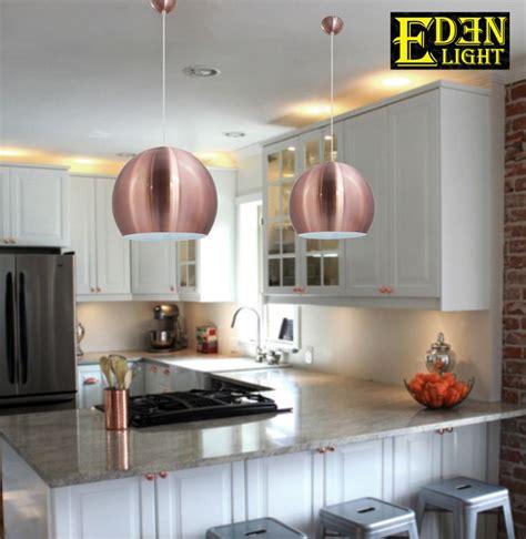 Breakfast Bar Lights Ideas - copper coloured pendant lights for breakfast bar home