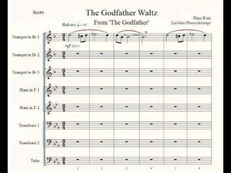 Extenuating Circumstances the godfather waltz brass octet youtube