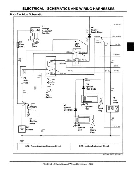 deere ztrak wiring diagrams wiring diagrams