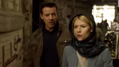 claire danes tv show homeland is racist graffiti sneaked onto tv show cnn