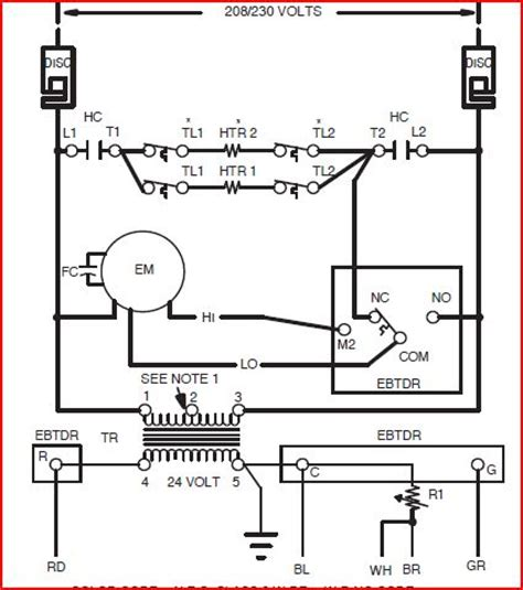 wiring diagram for heat wiring diagram book