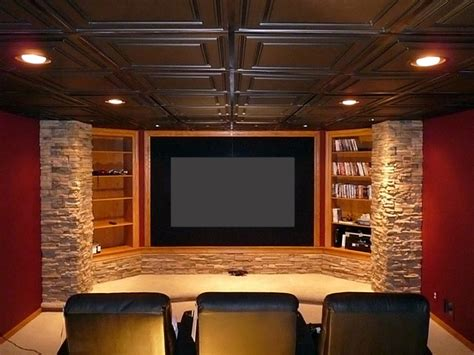 straford ceiling tiles home theater by ceilume ceiling