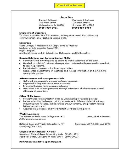 Exle Of Skills Section On Resume by Kerja Wellpapers Sle Resume Skills Section