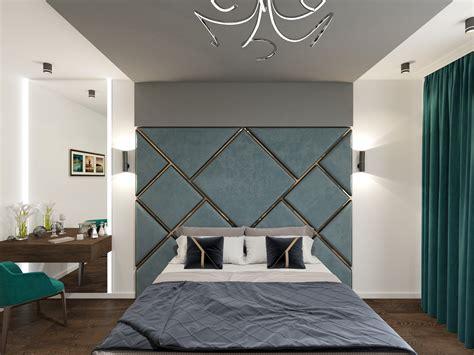 modern bedroom visualization  interior gallery area