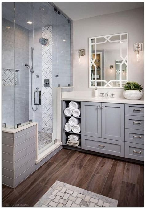 enchanting urban farmhouse master bathroom remodel