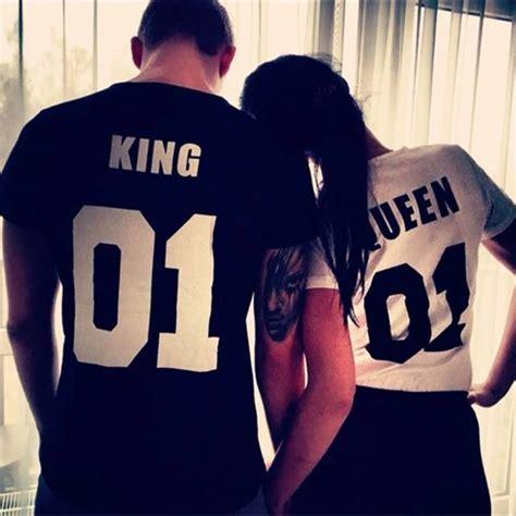 imagenes de amor king y queen playera pareja king queen 460 00 en mercado libre