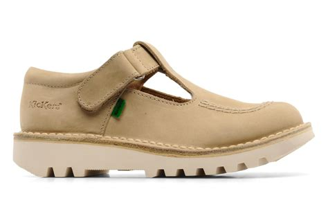 Kickers Soldado Tua by Zapatos Con Velcro Kickers Kick Out Beige Sarenza Es