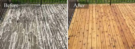 deck fence restoration cleaning services  san antonio