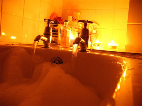 romantic bathtubs romantic bath tonight i ran a romantic lavender bath for w flickr photo sharing