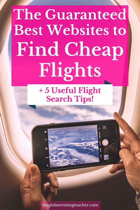 best websites to find cheap flights 5 useful flight search the globetrotting