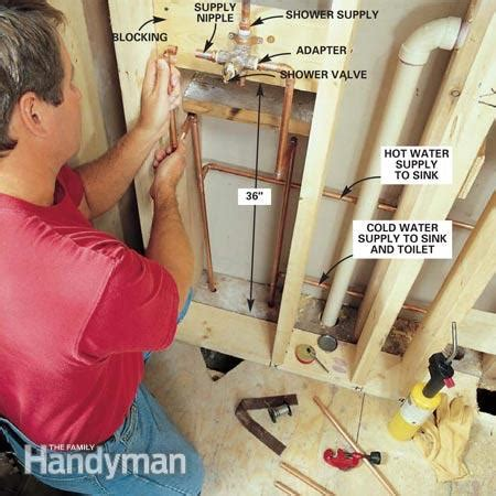 How To Fix Kitchen Faucet Drip how to remodel a small bathroom the family handyman