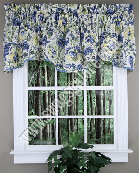 imperial dress valance porcelain waverly waverly curtains