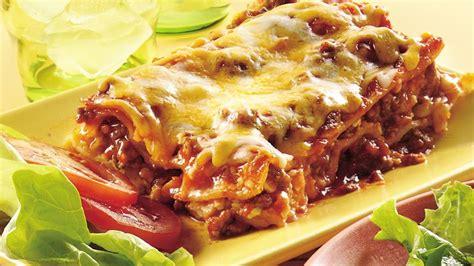 Betty Crocker Lasagna Recipe With Cottage Cheese by Cheeseburger Lasagna Recipe From Betty Crocker