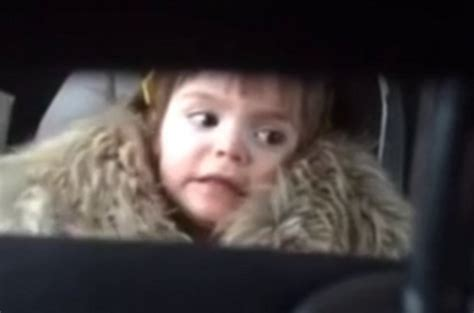 theme music kidnapped this toddler listens to one very famous theme tune her