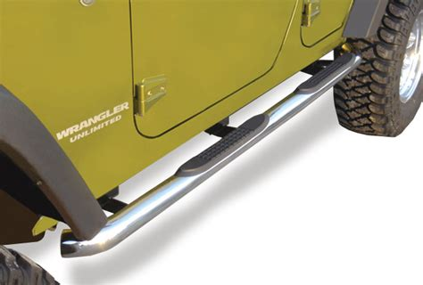 rugged ridge side steps 1976 1986 jeep cj7 rugged ridge side steps rugged