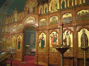 Medieval Wall Murals iconostasis as road map to the kingdom sacred art