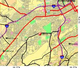 Birmingham Zip Code Map by Birmingham Zip Code Map Submited Images