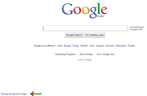 change wallpaper on google change background image of google homepage html autos weblog