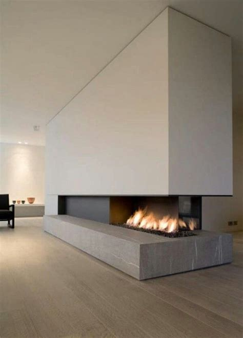 minimalist fireplace statement fireplace minimalist home pinterest