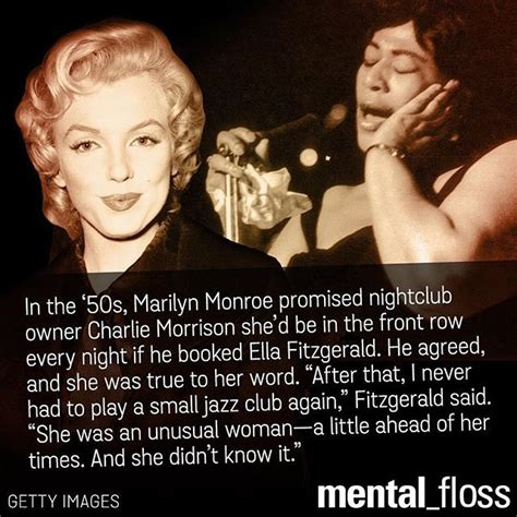 ella fitzgerald quotes marilyn fought for ella fitzgerald and few knew it