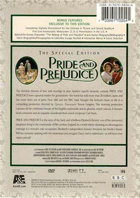 timeless themes in pride and prejudice pride and prejudice dvd 1995 dvd empire