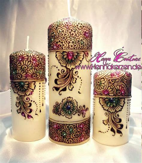 henna design on candle wix com henna henna candles and candles