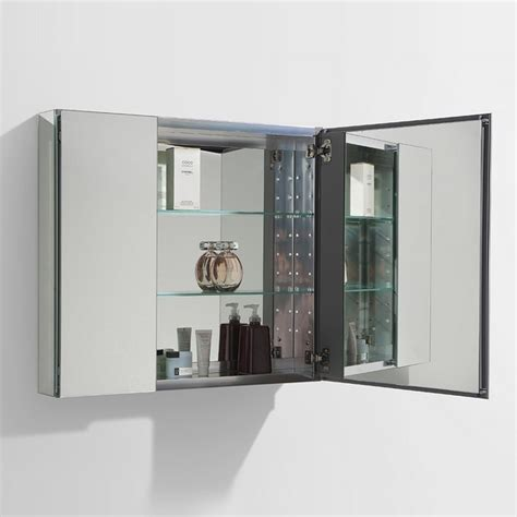 fresca 40 quot wide bathroom medicine cabinet w mirrors direct to you furniture fresca fmc8090 medium 29 5 inch wide bathroom medicine