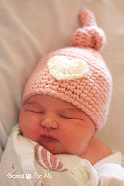 25 unique newborn crochet hats ideas on