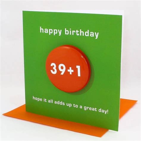 40th Birthday Cards 40th Birthday Card Homemade Cards Pinterest