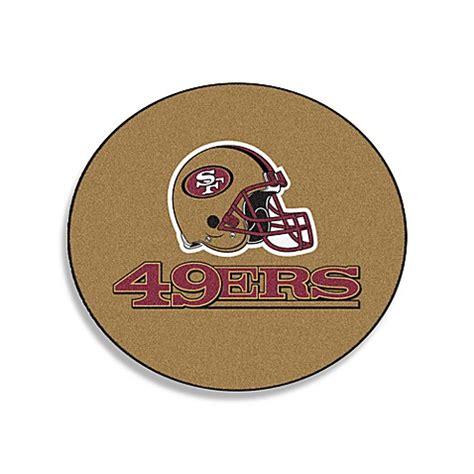 49ers rug buy nfl team rug in san francisco 49ers from bed bath beyond