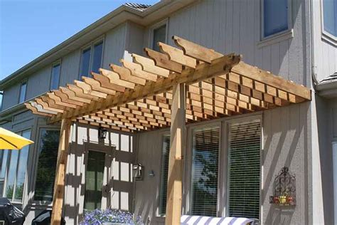 backyard pergola ideas  nature kansas city