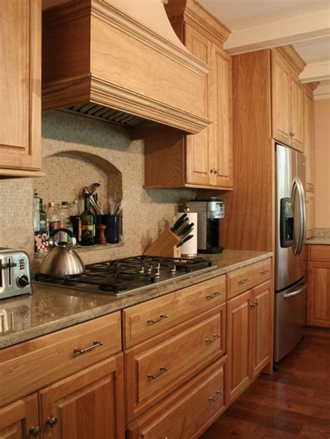 oak kitchen furniture red oak cabinet houzz