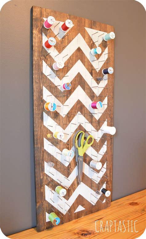 Diy Thread Rack by Diy Thread Holder Sewing Project Ideas