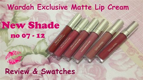 Wardah Matte 13 3 8g wardah exclusive matte lipcream new shade review