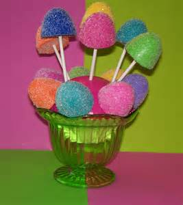 Candyland Favors by 6 Gumdrops For Candyland Theme Birthday Favors