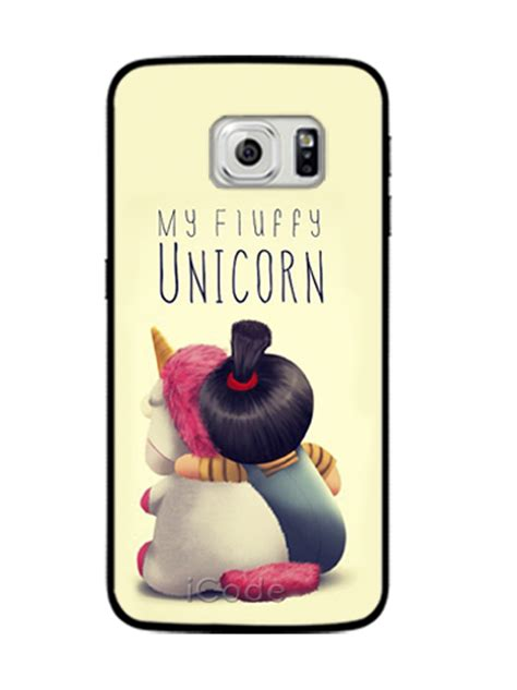Unicorn For Samsung Galaxy S6 Edge my fluffy unicorn agnes phone cases cover for samsung