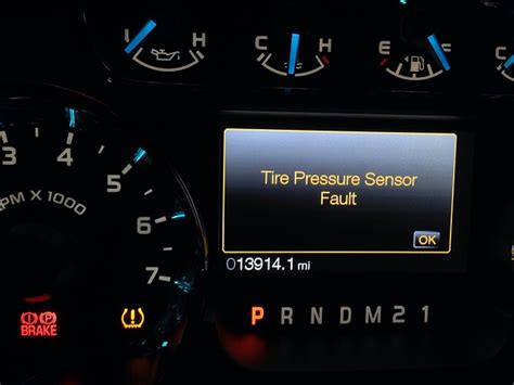 tire pressure sensor fault ford f150 forum community