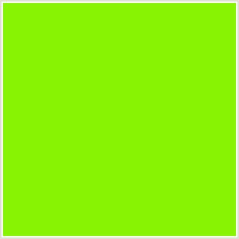 lime green color 89f505 hex color rgb 137 245 5 chartreuse green yellow lime lime green