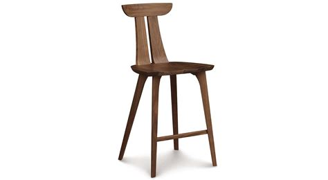 bar or counter stools circle furniture estelle counter stool cherry counter