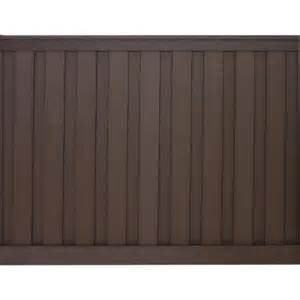 home depot privacy fence panels trex seclusions 6 ft x 8 ft woodland brown wood plastic