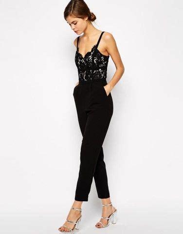 Set Top Jumpsuit Sfb1673 Black best 25 lace jumpsuit ideas on pantalones