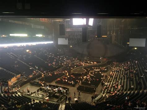 bridgestone arena seats bridgestone arena section 203 concert seating