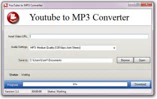 Free youtube to mp3 converter is the very first windows application