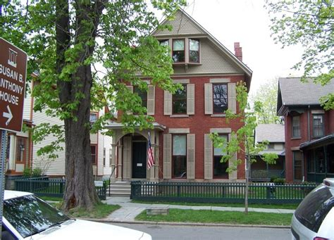 susan b anthony house rochester the new york history blog